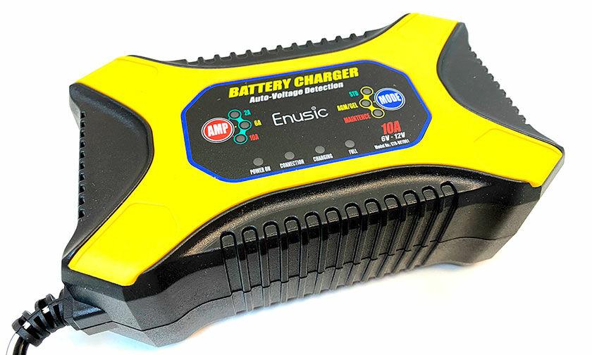 Akkumulátor töltő akár AGM akksihoz is