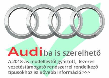 Audi lézerblokkoló