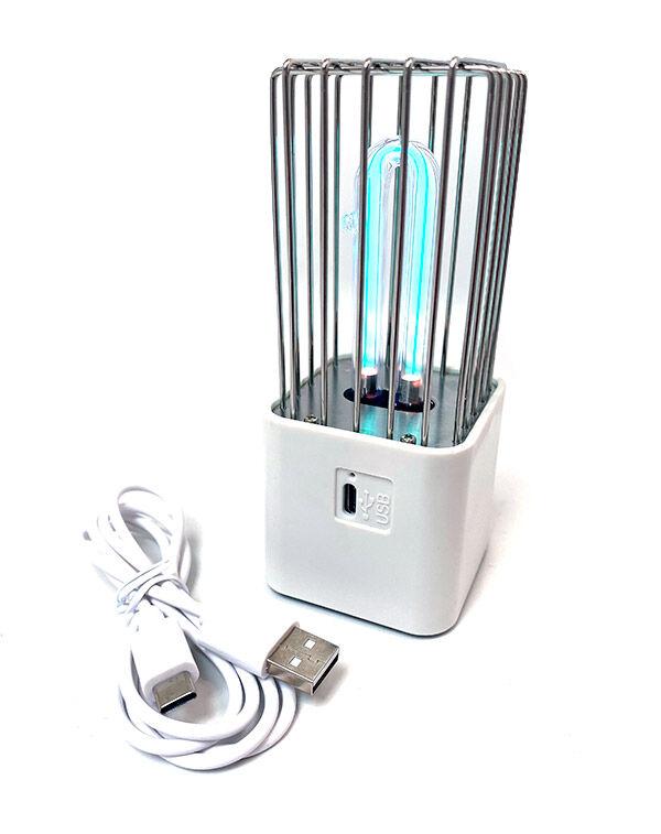 Fertőtlenítő lámpa USB töltővel
