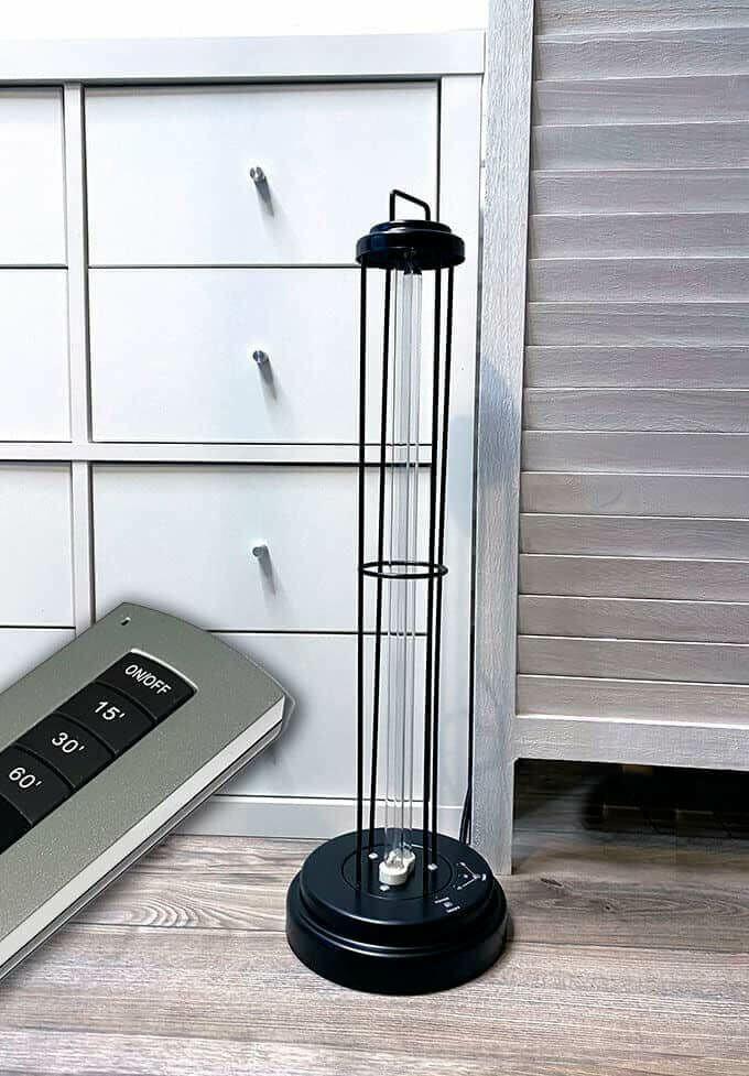 Fertőtlenítő UV lámpa távirányítóval