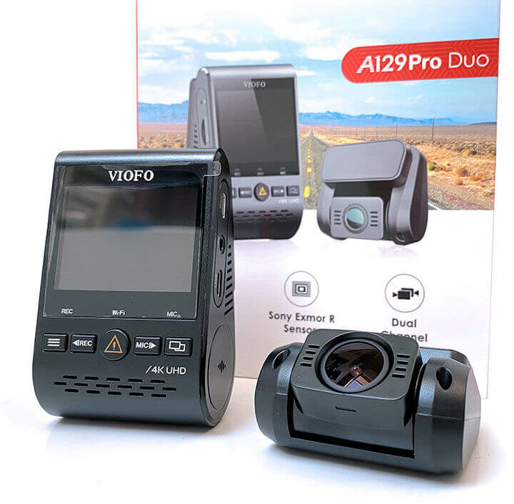 Viofo autós kamera kijelzővel