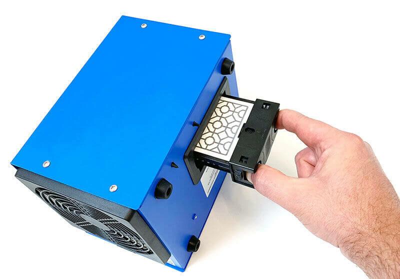 7g/h ózongenerátor - Blue 7000 Ozonegenerator készülék ózonkazetta csere
