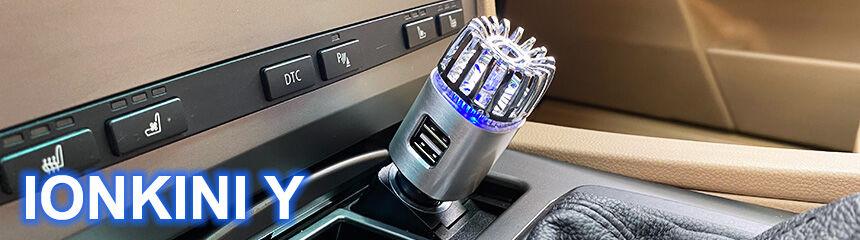Autós ionizátor az Ionkinitől