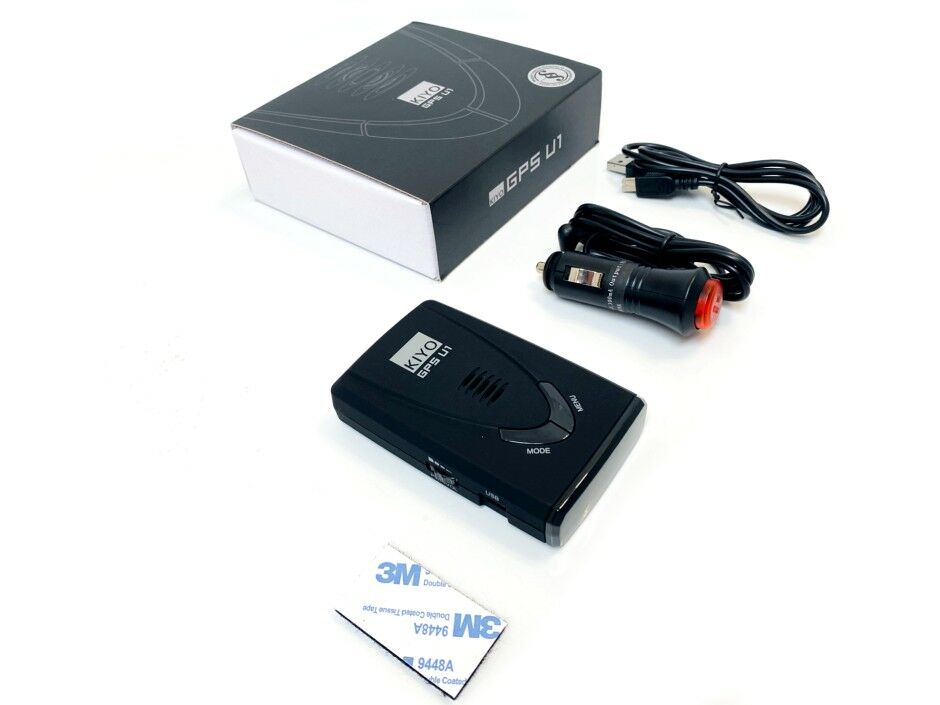 Kiyo GPS U1 traffipax jelző készülék és tartozékai