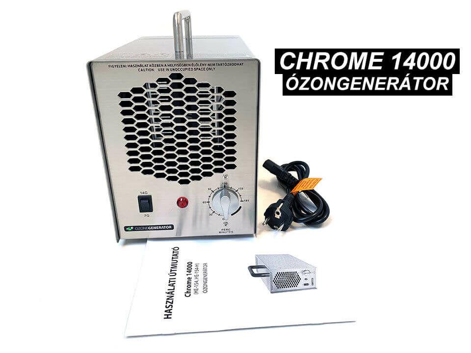 Chrome 14000 ózongenerátor és alkatrészei